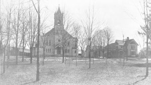 St. Joseph's Church - view from park 421